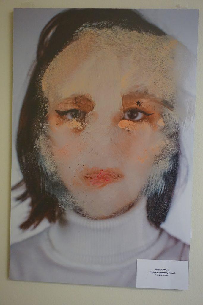 """Self-Portait"" by Jessie Li White"