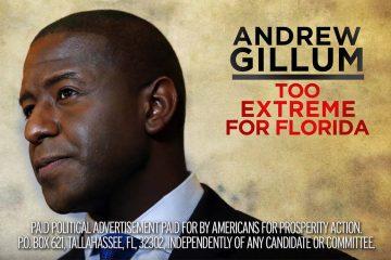 Gillum AFP-Action ad 10.2.18