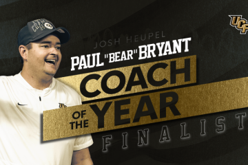 Josh Heupel - Coach of the Year banner