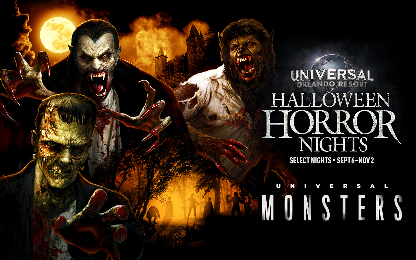 Universals Classic Monsters Coming To Halloween Horror Nights
